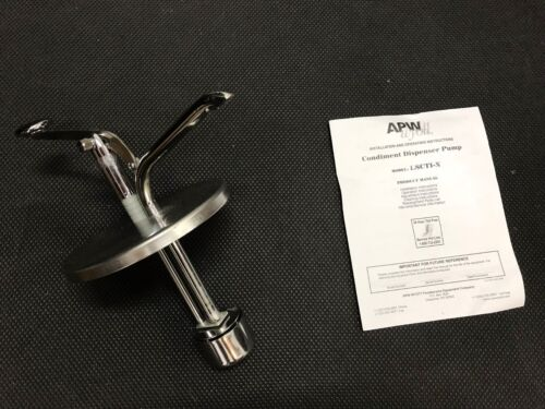 APW Wyott LSCTI-X Stainless Steel Condiment Pump