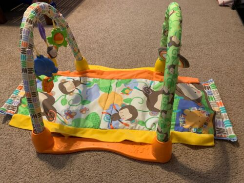 Fisher Price Baby Gym Play Mat Monkey Infant - $14.99