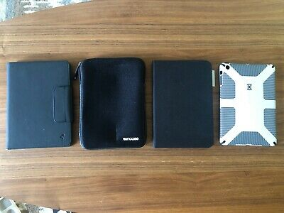 iPad mini 1,2,3 Cases (lot of 4 - Incase, Logitech, Speck)