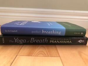 Yoga/Breathing Books