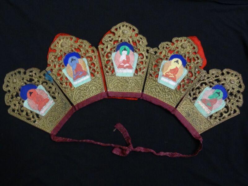 VINTAGE  MONGOLIAN BUDDHIST  LAMA