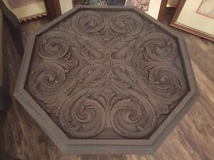 Ornate End Table