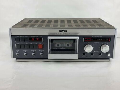 Revox B 710 Microcomputer Controlled Cassette Tape Deck