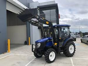 Foton Lovol 60hp Cabin Tractor, Front end Loader, Syncro Gearbox Pakenham Cardinia Area Preview
