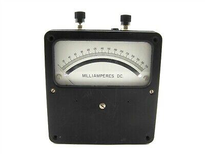 Weston Electrical 931 Zero Corrector Dc Volts Panel Meter Gauge Milliamperes