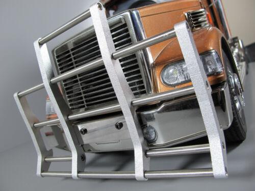 New Aluminum Front Animal Bumper Guard Tamiya R/C 1/14 King Knight Grand Hauler