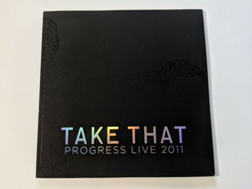Take That Progress Live 2011 Tour Book / Program + Offical Bag (folded)