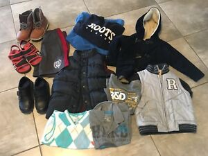 Boys jackets/shoes