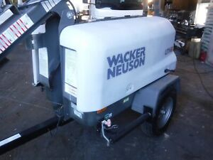 2012 wacker-neuson LTN8 Diesel 4 light head boom