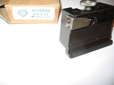 Aloris Axa-71 Cut Off Grooving Blade Lathe Tool Post Holder