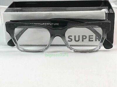 New Super Retrosuperfuture 823 America Faded Grey Crystal Sunglasses Size (Super Sunglasses America)