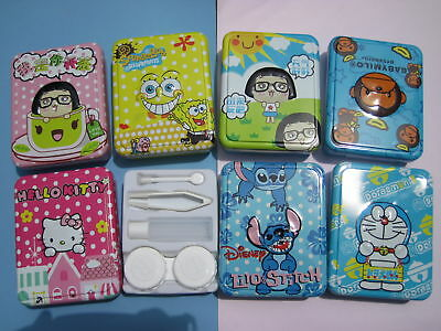 Cool Contact Lenses (Cool & Big Metal Contact Lens Case  (various)