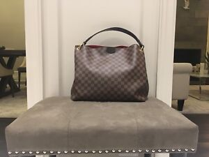 Authentic LV Louis Vuitton Bag - Damier Ebene Graceful MM