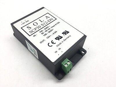Sola Scp30 S12-dn 12 Volt Dc Power Supply