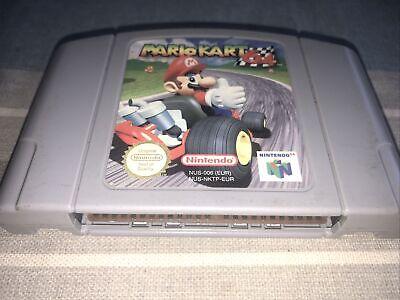 N64 Nintendo 64 Game Mario Kart 64 UK PAL Cartridge Only