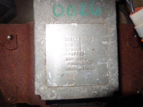 cummins 3922724 engine control module