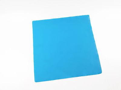 Endodontic Rubber Dam Clamp Sheet Blue Latex Medium 6x6 Adult Hygenic Dental