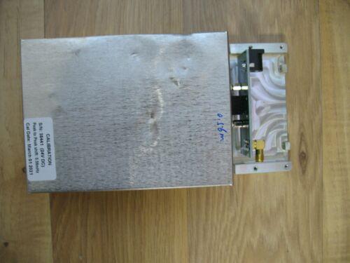 DATUM LPRO 10MHz rubidium oscillator, with interface board, calibrated