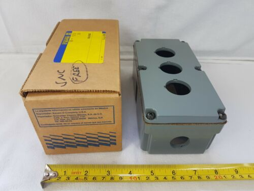 Square D 9001ty3 Control Station Enclosure Series A Metal Schneider - New