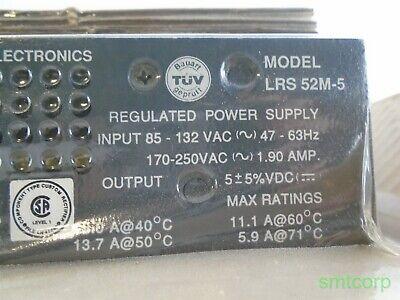 Lambda Lrs-52-5 Regulated Power Supply 85-132vac 5vdc