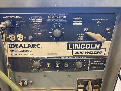 Tig Welder Lincoln Idealarc
