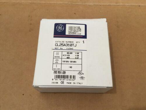 GENERAL ELECTRIC CL25A310TJ CONTACTOR