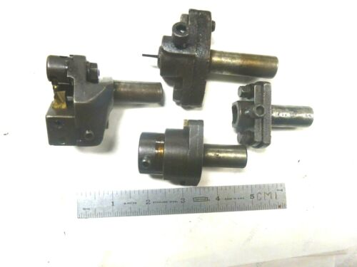 4- TOOL HOLDERS FOR TURRET LATHES & SCREW MACHINES  5/8 SHANK