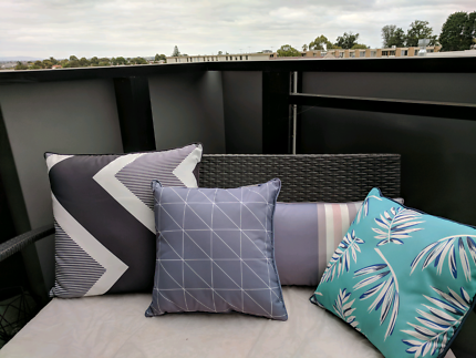 Stylish outdoor cushions