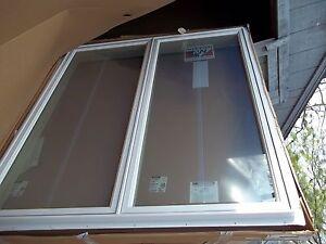 Nib 3 three andersen cw255 casement windows white grilles for Andersen casement window screens