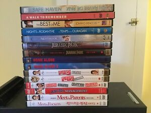 Assorted DVD movie Collection