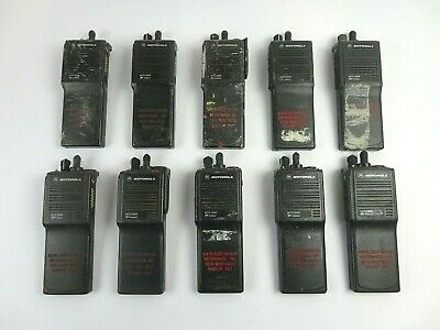 Motorola Mts2000 Flashport H01ucd6pw1bn 16channel 2way 800mhz Radio Lot Of 10