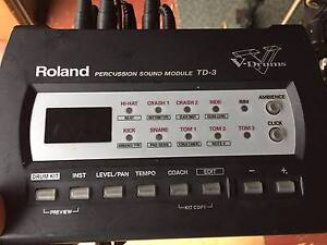 Roland TD3 5 piece Electronic Drum Kit Kingaroy South Burnett Area Preview