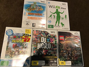 Wii Games (Great Condition) Brighton Bayside Area Preview