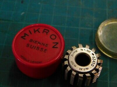 Itw Mikron Hss Gear Hob 83410 New 8mm I.d.24mm O.d.