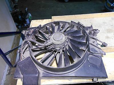 Jaguar S-Type 1999-2002 Radiator Cooling Fan Assembly. 2.5 + 3.0 Models.