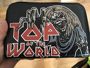 Iron Maiden heavy metal leather planner