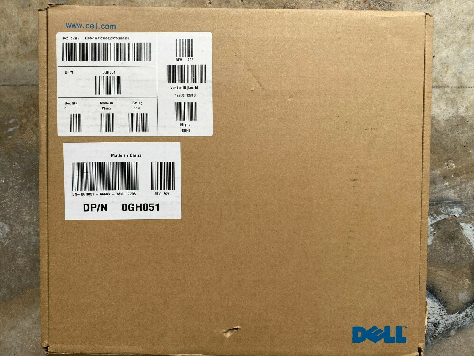 Dell 0GH051 D/Port Advanced Port Replicator Docking Station - NEW In Open Box - $34.99
