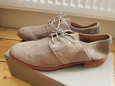 H by Hudson grey brogues. Size 40, UK 7