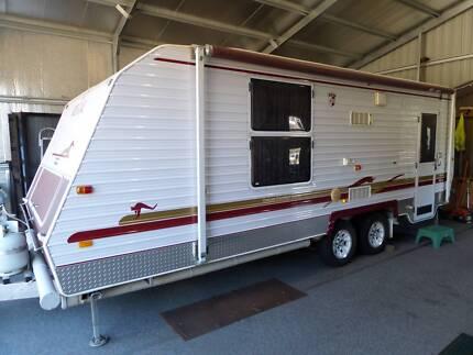 """Regal Caravan Delux Comfort Tourer 19'6"""" 2007 Model Wodonga Wodonga Area Preview"""