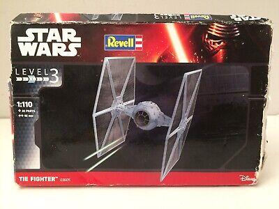 Model Kit Star Wars Revell Tie Fighter 03605 1:110 Skill Level 3 E4