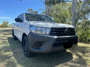 2019 Toyota Hilux Workmate Dual Cab Sandstone Point Caboolture Area Preview
