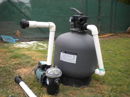 Swimming Pool Filter and Pump