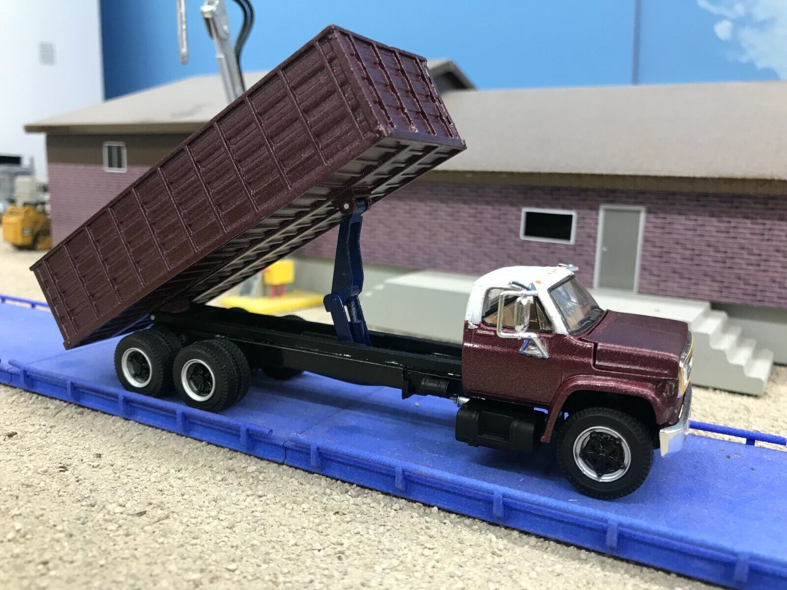 Custom 1.64 Scale DCP First Gear Chevy C65 with 22' bed