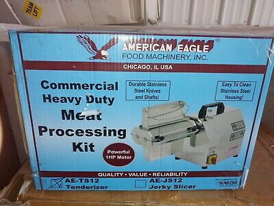 American Eagle Ae-ts12 Commercial Meat Tenderizer 1hp Stainless Steel