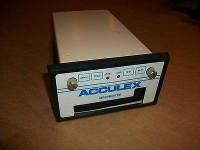 Acculex Mini Printer Model Dpp-240 Used
