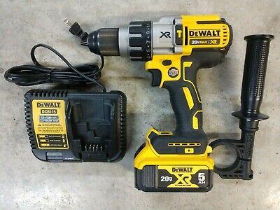 Dewalt 20v Max Xr Brushless 12 Hammer Drill W 5.0ah Battery Model Dcd996
