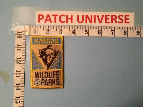 KANSAS WILDLIFE & PARKS  SHOULDER PATCH  N122