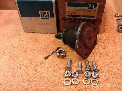 2 NOS GM CHEVY 1963 1970 GMC TRUCK  BALL JOINTS UPPER CONTROL ARM GMC C10 G VAN