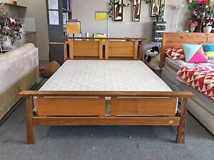 TODAY DELIVERY MODERN SOLID WOODEN Queen bed frame QUICK SALE Belmont Belmont Area Preview