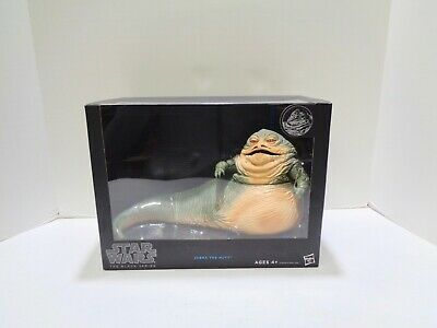 """2014 Star Wars The Black Series JABBA THE HUTT Deluxe Figure NEW SEALED 6"""" scale"""